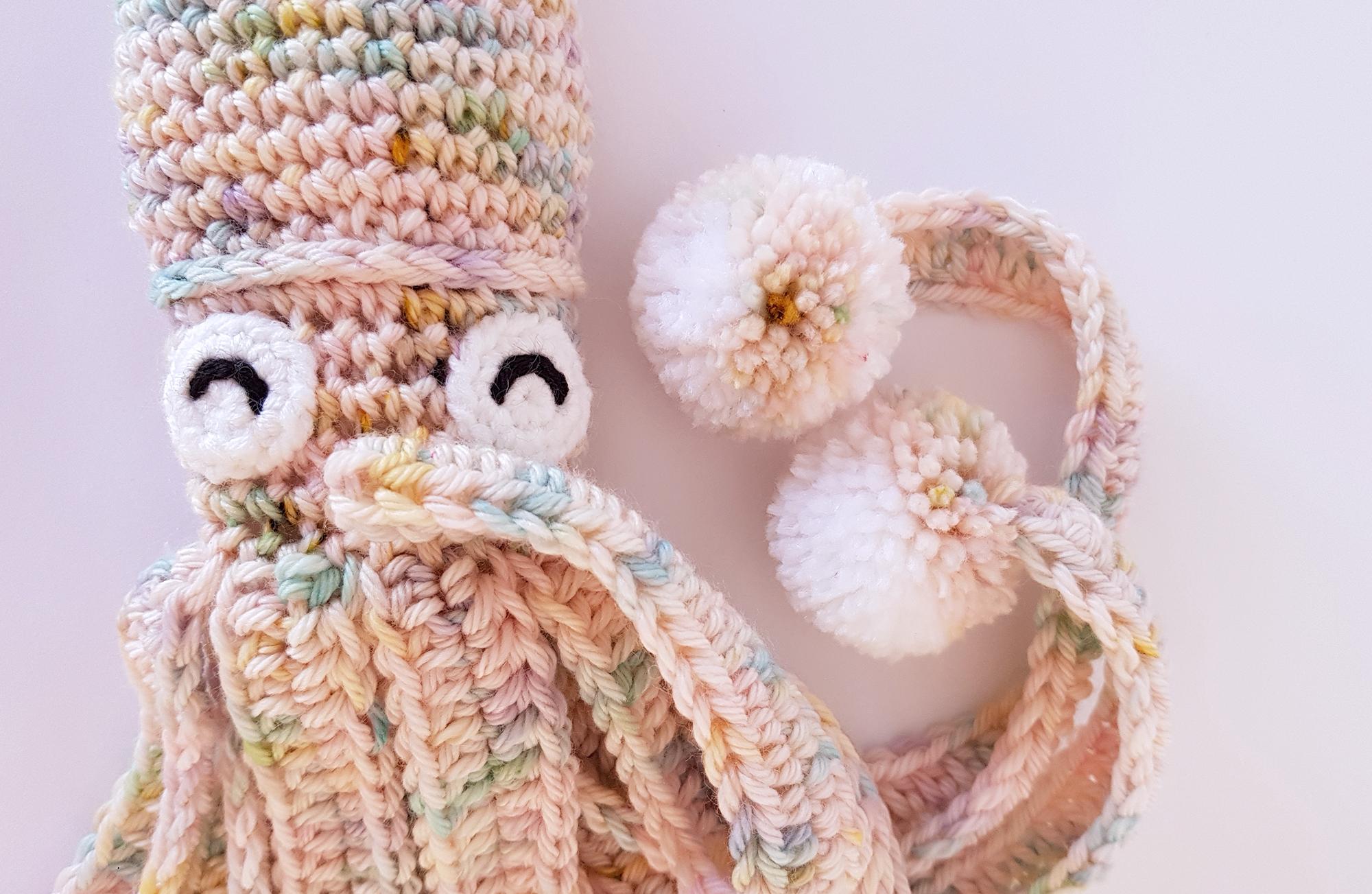 Make It: Mini Squid - Free Crochet Pattern #crochet #amigurumi ... | 1303x2000