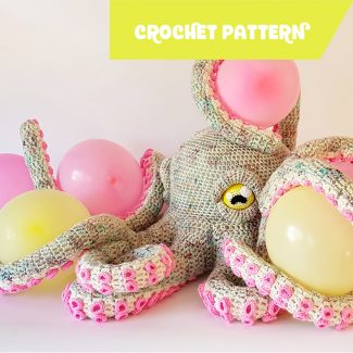 Apollo the Octopus | crochet pattern by Projectarian