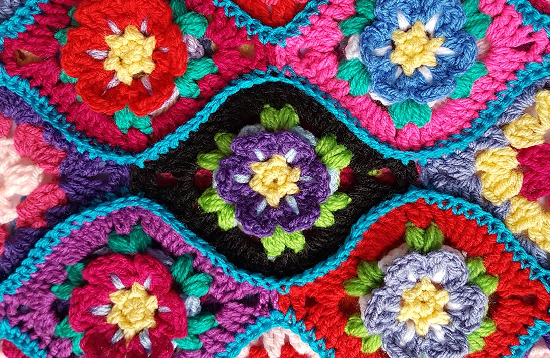 Project 020 Moroccan Garden Free Crochet Pattern