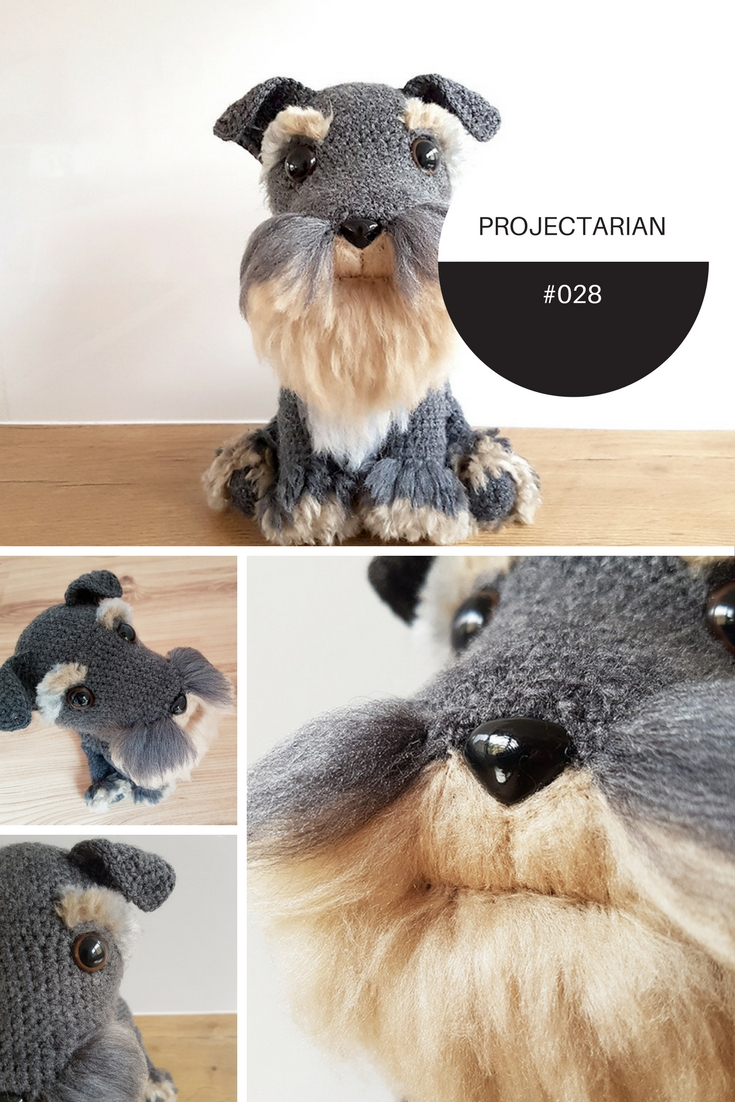 Great tutorial for making your own fur for amigurumi! (There's a free pattern for the dog, too!) https://www.projectarian.com/2017/01/16/project-028-tutorial-make-fur-amugurumi/