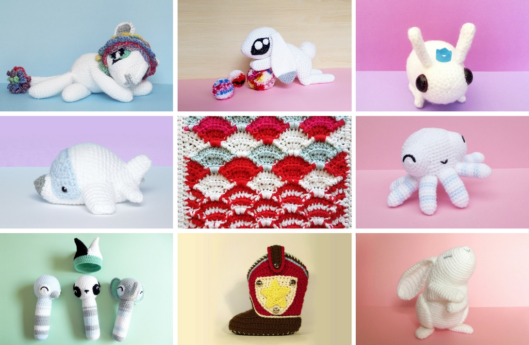 Premium Crochet Pattern Collection by Projectarian
