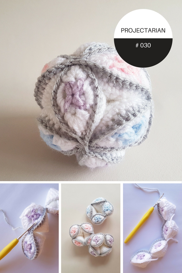 Amish Puzzle Ball Instructions.Project 030 Harlequin Puzzle Ball Free Crochet Pattern