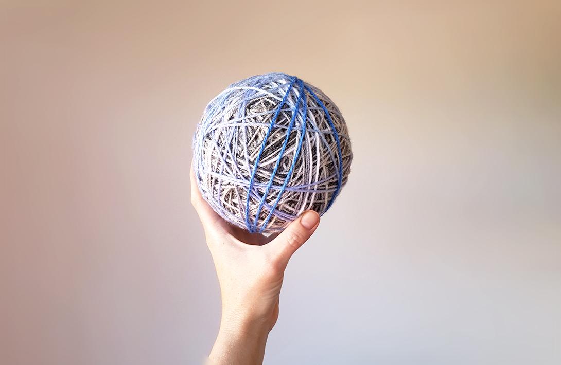 Stash buster | Make a monster ball of yarn