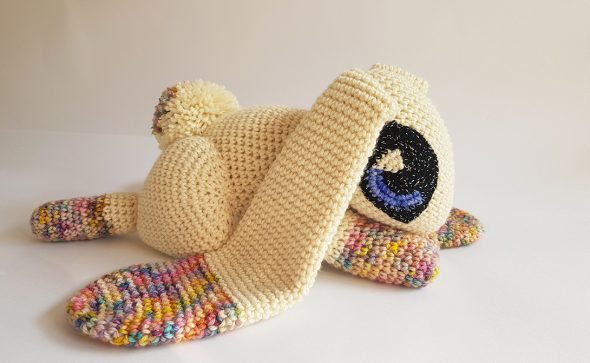 Jupiter The Rabbit | weighted merino therapy toy by Projectarian