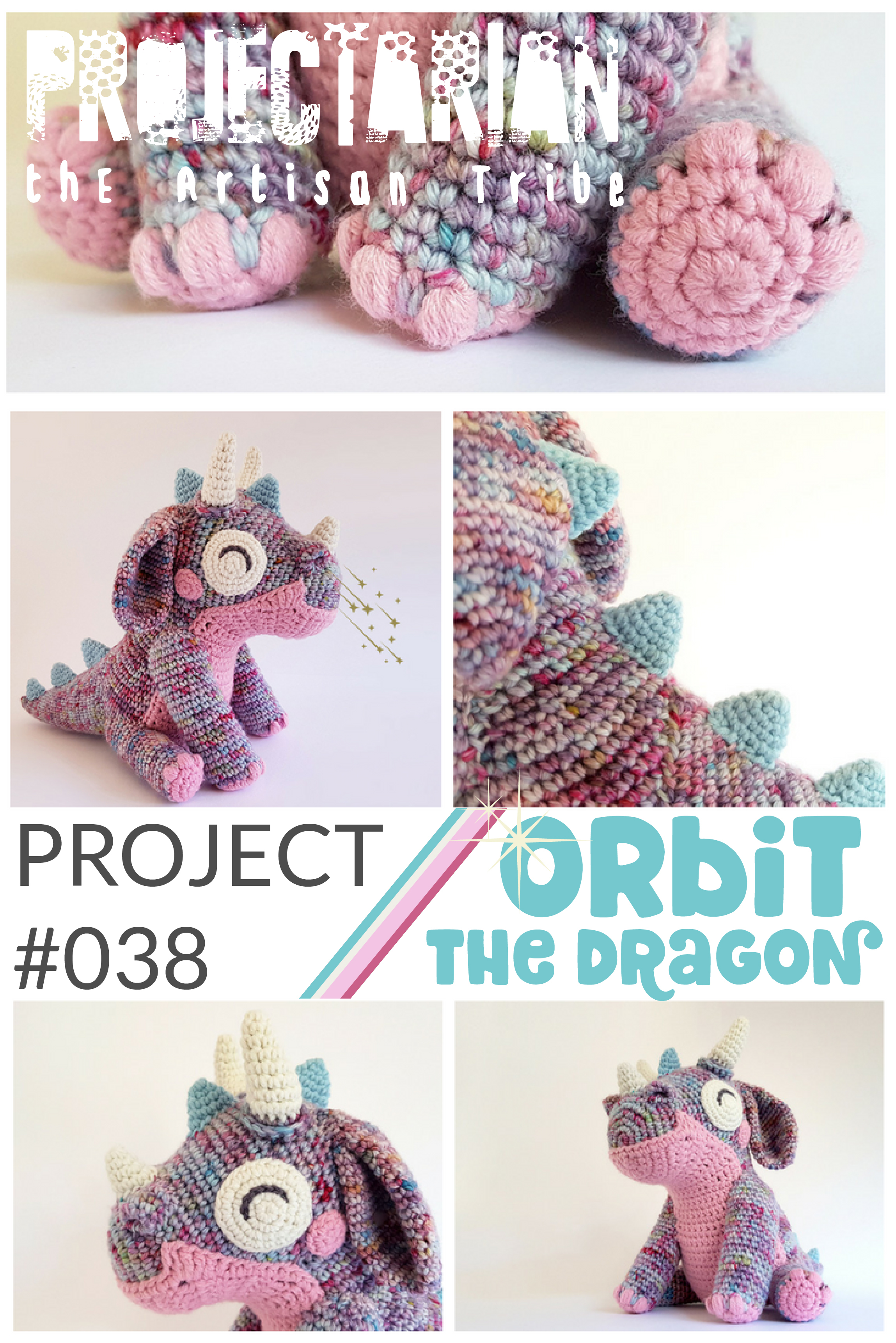 Orbit the Dragon | FREE pattern by Projectarian