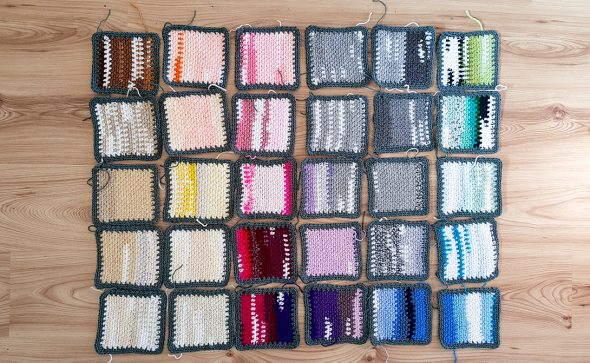 Project Frankenyarn | Stash-buster by Projectarian