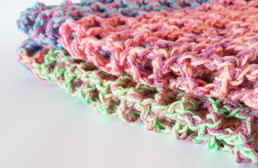 Mermaid Net Afghan   FREE crochet pattern by Projectarian