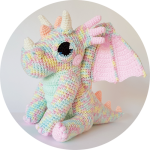 Orbit the Dragon | crochet pattern by Projectarian