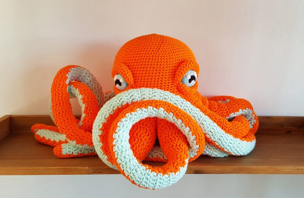Apollo the Octopus pattern by Projectarian
