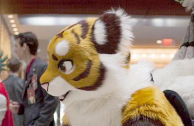 tiger fursuit